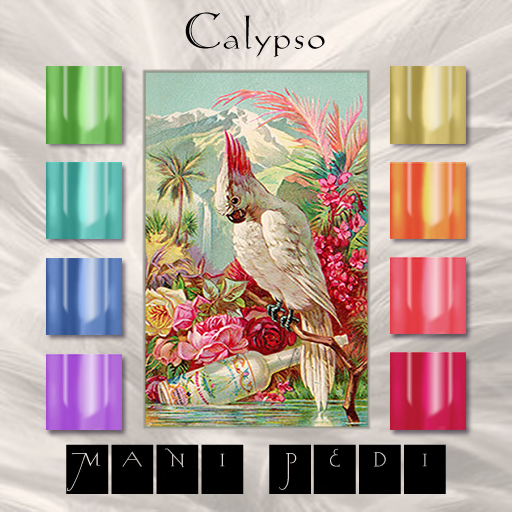 ~Mani Pedi~ Calypso Polish Applier